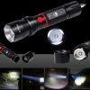 UKing ZQ-X984 5000LM 5 Modes Focusing Waterproof Portable Flashlight Black