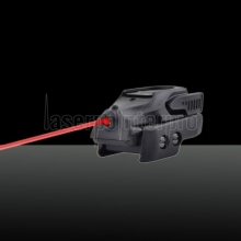 U`King ZQ-88301 650nm 50mW Luz roja Laser Sight Kit Negro