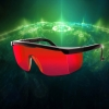 UKing ZQ-YJ04 520-532nm Green Laser Pointer Eyes Protective Eyewear Goggles Red