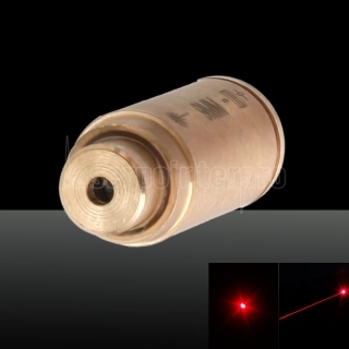650nm Cartridge Red Laserbohrer Sighter Laser Pen 3 x LR41 Batterien Cal: 9MM Messing Farbe
