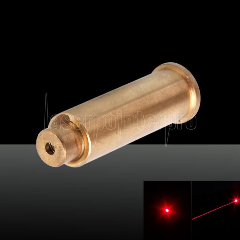 US 9mm Red laser Bore Sight CalibratorCartridge CAL Brass Boresighter Battery