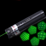 Laser 303 10000mW Professional Green Laser Pointer Suit with 18650 Battery & Charger Black