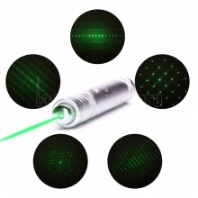 UKing ZQ-J36 200mw 532nm 5 in 1 USB Laser Pointer