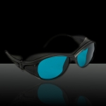 190-380&600-760nm Laser Eyes Protective Goggle Glasses Blue with Glasses Cloth