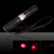 Laser 302 200mW 650nm Mid-open Red Laser Pointer Pen Black