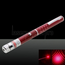 5mW Professional Gypsophila Light Pattern Red Laser Pointer Red Blue