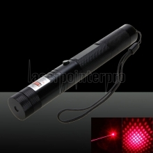 Laser 303 200mW Professional Red Laser Pointer Suit with Charger Black