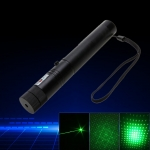 Laser 303 300mW Professional Green Laser Pointer Suit with 18650 Battery & Charger Black