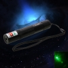 200mW Professional Green Laser Pointer Suit with 16340 Battery & Charger Black (850)