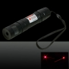 100MW Professional Red Light Laser Pointer with Box (CR123A Lithium Battery) Black