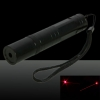 200MW Professional Red Light Laser Pointer with Box (CR123A Lithium Battery) Black