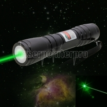500mW Dot Pattern Green Light ACC Circuit Laser Pointer Pen Black