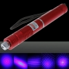 Motif 500mW focus Starry Blue Light stylo pointeur laser rouge