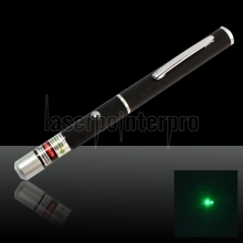 200mW 532nm Mid-open Green Laser Pointer Pen