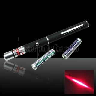 150mW 650nm Mid-open Beam Lumière rouge Laser Pointer