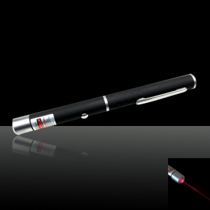 20mW 650nm Mid-open Red Laser Pointer Pen with 2 AAA Batteries