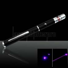 50mW 405nm Elegante Mid-aberto Blue Laser Pointer Pen