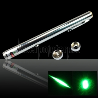 100mW 532nm Open-back Steel Green Laser Pointer