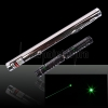 50mW 532nm Steel Green Laser Pointer Pen with 2AAA Battery