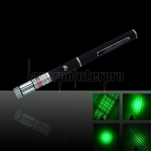 5 in 1 20mW 532nm Green Laser Pointer Pen with 2AAA Battery