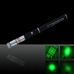 5 in 1 20mW 532nm Green Laser Pointer Pen