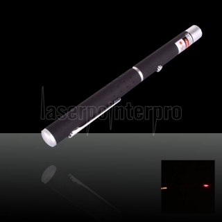 5mW 650nm Mid-aberto Red Laser Pointer Pen com 2AAA Bateria