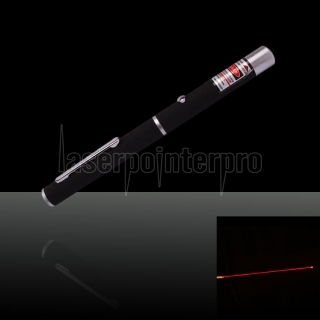 50mW 650nm Mid-open stylo pointeur laser rouge