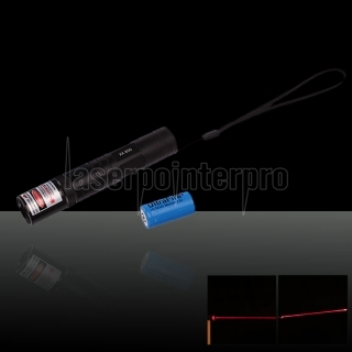 30mW 650nm Flashlight Style 850 Type Red Laser Pointer Pen with 16340 Battery
