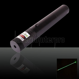 100mW 532nm Flashlight Style Adjust Focus Green Laser Pointer Pen with 18650 Battery