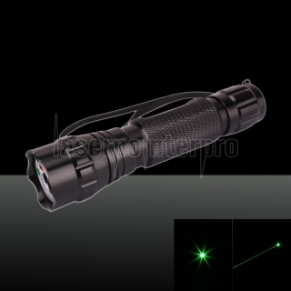 100mW 532nm Green Laser Pointer Pen with 16340 Battery