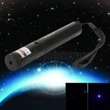150mW 405nm Adjust Focus Blue-violet Laser Pointer Pen with Battery