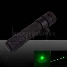 50mW 532nm Hat-shape Green Laser Sight with Gun Mount Black (with one CR123A battery)