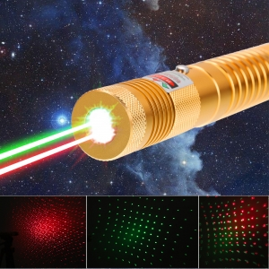 1000mw 532nm & 650nm Burning  High Power Green Laser pointer kits