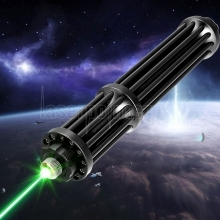 50000mw 520nm Gatling Brennende High Power Green Laser Pointer Kits Schwarz