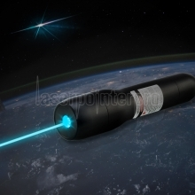 QK-DS6 1000mW 488nm Wasserdicht Blau Laser Pointer 5 Meter Unterwasser