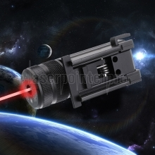 Alta Precisão 100mW 650nm Red Laser Sight Black