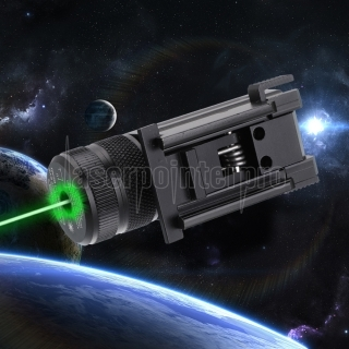 High Precision 50mW 520nm Green Laser Sight Black