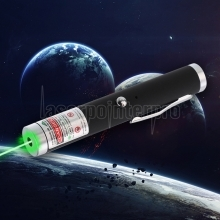 200mW 532nm Green Beam Light Single-point Rechargeable Laser Pointer Pen Black