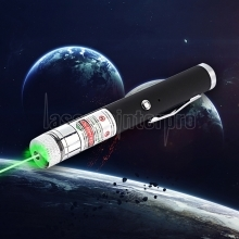 200mW 532nm Green Beam Light Starry Recargable Laser Pointer Pen Black