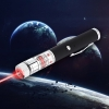200mW 650nm Red Beam Light Starry Rechargeable Laser Pointer Pen Black