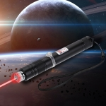 200mW 650nm Rechargeable Red Laser Pointer Beam Light Starry Black