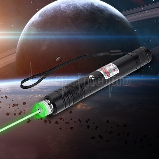 200mW 532nm Rechargeable Green Laser Pointer Beam Light Starry Black