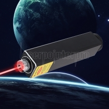 305 200mW 650nm 5 in 1 Puntatore laser rosso ricaricabile Beam Light Starry Laser Black