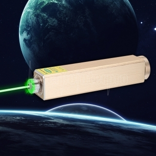 305 200mW 532nm 5 in 1 Rechargeable Green Laser Pointer Beam Light Starry Laser Golden