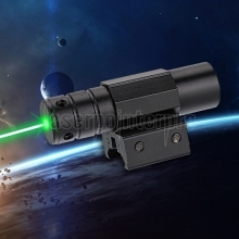 High Precision 50mW 520nm Green Laser Sight Black with 14250 battery