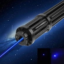 500mw 450nm Gatling Burning Blue Laserpointer Kits Schwarz