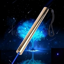 500mw 450nm Burning Blue Laserpointer Kits Golden 008