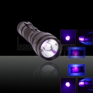 UltraFire WF-502B 390-410nm UV Ultraviolet LED Flashlight Electric Torch