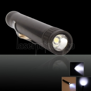 Mini Pen-type 3w Led AAA Flashlight Torch Lamp MXDL