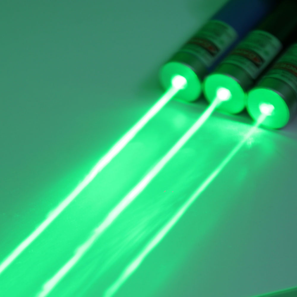 400mW 532nm Green USB Recargable Fine Copper Laser Pointer Blue